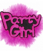 Vrijgezellenfeest pins party girl
