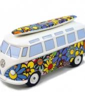 Vw t1 bus spaarpot hippie