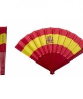 Waaiers in de spaanse vlag thema