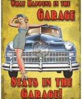 Wandplaat gadgets de garage 10040238
