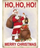 Wandplaat voor kerst merry christmas
