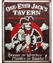 Wandplaatje jacks tavern