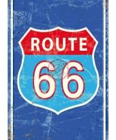 Wandplaatje route 66