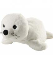 Warm knuffel zeehond babyshower kado