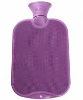 Warm water kruik paars 2 l