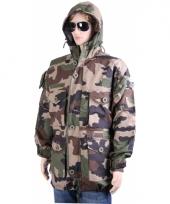 Warme camouflage winterjassen