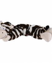 Warmte knuffel zebra magnetron