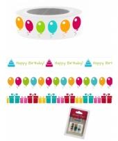 Washi knutsel tape verjaardag
