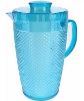 Waterkan met koelelement blauw