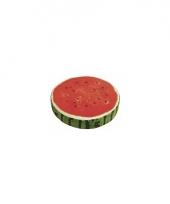 Watermeloen decoratie kussen 38 cm