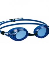 Wedstrijd duikbril blauw wit