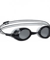 Wedstrijd duikbril zwart wit
