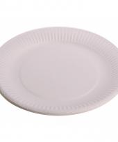 Wegwerp bordjes wit 10 stuks 10075184
