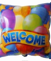 Welkom thuis folie ballon 45 cm