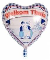 Welkom thuis helium ballon 45 cm