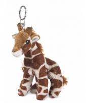 Wereld natuur fonds sleutelhanger giraffe
