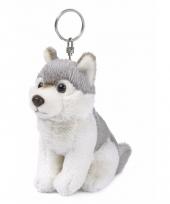 Wereld natuur fonds sleutelhanger wolf