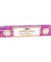 Wierook mystic yoga ontspanning meditatie stokjes nag champa