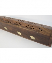 Wierookbrander box olifant 30 cm