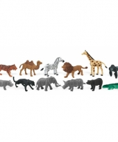 Wilde speelgoed dieren