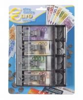 Winkeltjes spelen kassa lade met nepgeld