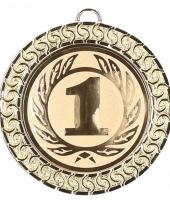Winnaars medaille nummer 1