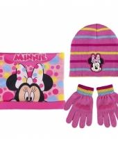 Winter accessoires minnie mouse