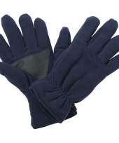 Winter fleece handschoenen navy