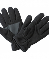 Winter fleece handschoenen zwart