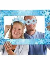 Winter sneeuw thema feest foto booth set