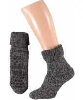 Winter sokken van wol voor dames 10064437