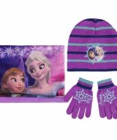 Winteraccessoires frozen voor meisjes
