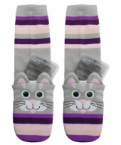 Wintersokken kat met gel pads