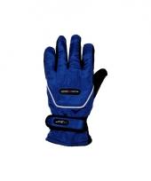 Wintersport handschoenen blauw