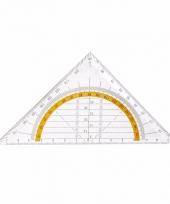 Wiskunde driehoek 14 cm