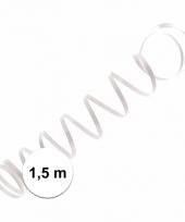 Wit ballon lint 1 5 meter