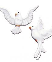 Wit duifje van wax