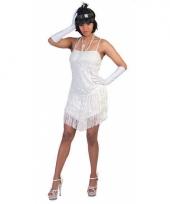 Wit jaren 20 jurkje voor dames