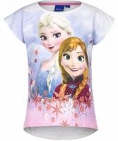 Wit-shirt frozen voor meisjes