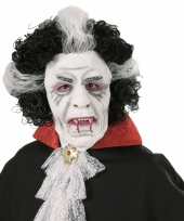 Wit vampieren masker
