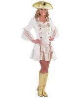 Wit verkleedjurkje piraat