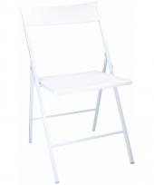 Witte bbq stoel