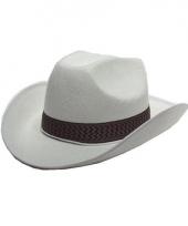Witte cowboy hoed dallas