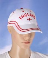 Witte engeland baseball cap