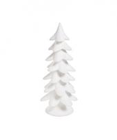 Witte foam kerstboom 52 cm