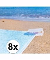 Witte handdoek klemmen 10089274