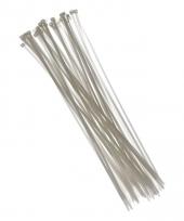 Witte kabelbinders 40 cm 50 stuks