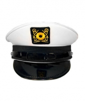 Witte kapitein pet