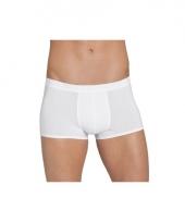 Witte korte boxershorts van sloggi