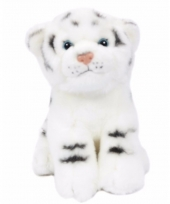 Witte tijger welp knuffeldiertje 20 cm
